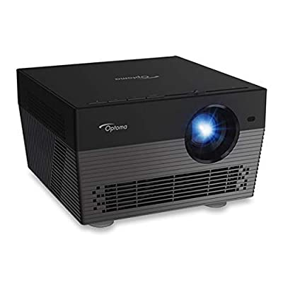 Optoma UHL55 Projector - Black Amazon Alexa and Google Home Voice Control