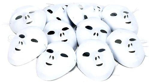 Packung mit 10 Masken Flock (Baby Play Brille)