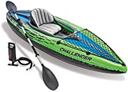 Intex 68305 Inflatable Challenger K1 Boat Set