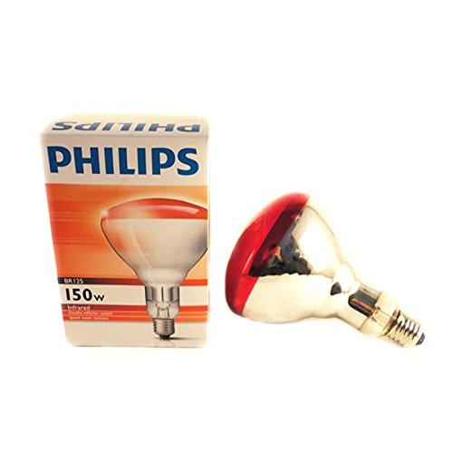 LAMPADA 150 W LEGGERA - Lampada infrarossi riscaldante per allevamento animale o alimenti