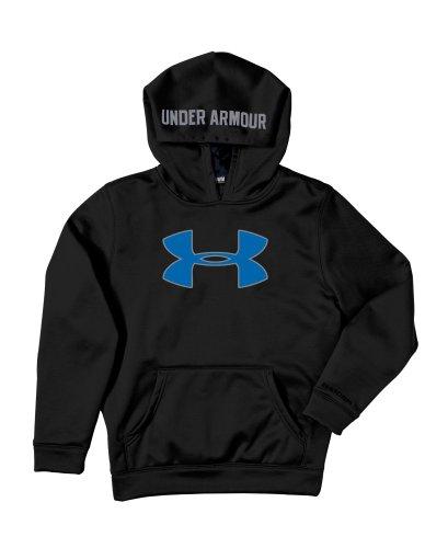 Big Boys 'Armour Fleece Storm Big Logo ¨¤ capuche jeunesse X-Small Black