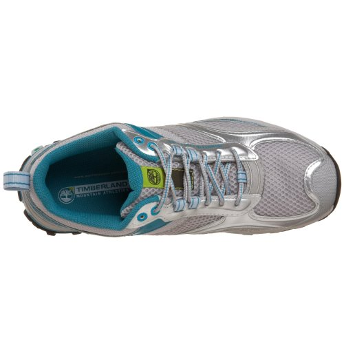 Timberland Women s Mountain Athletics Route Trail Running Trainers Shoes  Argento Blue  5 UK