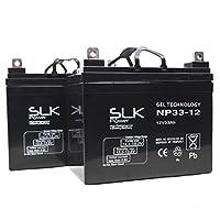 Pair of GEL AGM Mobility Scooter Batteries - 12v x 33ah, 36ah, 40ah, 50ah, 55ah, 75ah