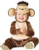 erdbeerloft Baby - Jungen Süßes Affen Kostüm, Äffchen, Babykostüm, Fasching, XL, Braun