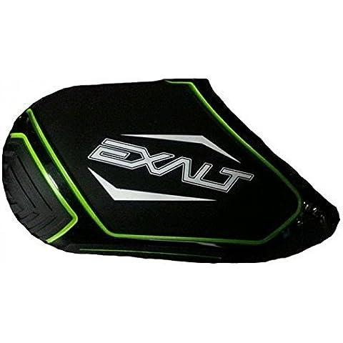 Exalt Paintball Carbon Fiber Tank Cover - 68ci,70ci,72ci - Black/Lime/White by Exalt