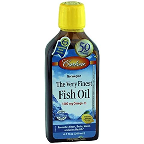 Carlson Labs The Very Finest Norwegian Fish Oil Liquid Omega-3's