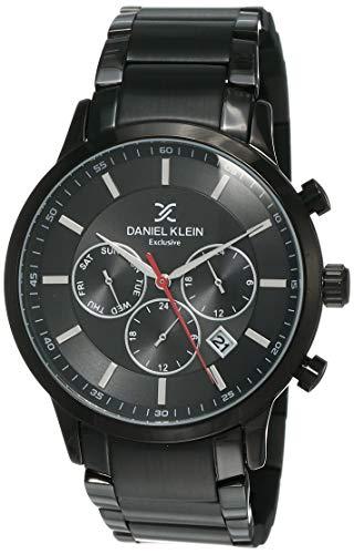 Daniel Klein Analog Black Dial Men's Watch-DK12152-5