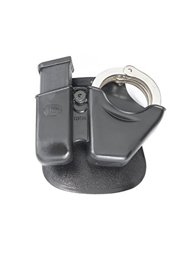 Fobus magazintasche für Glock 9mm Double-Stack & S&W Model 100 Handschellen -
