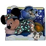 Disney Peluche Brille Dans La Nuit, taille et personnage au choix