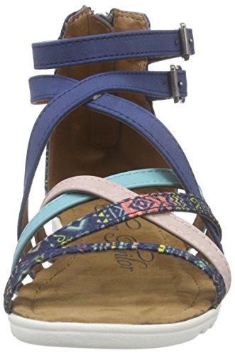 Tom Tailor 9673007, Sandales fille Bleu