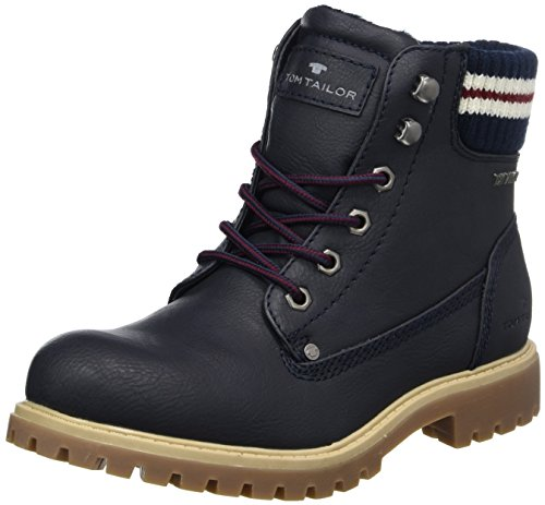 TOM TAILOR Women's 3790103 Boots, Blau (Navy), 6.5 UK