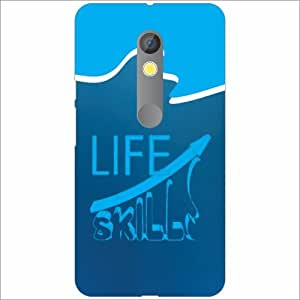 Moto X Play Back Cover - Silicon Life Is Like Water Designer Cases