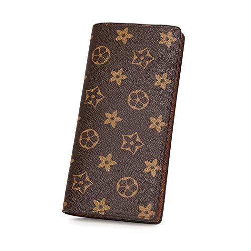 UNYU Womens Wallet on Sale Design Fashion Leather Clutch Handbag Zipper Organizer Card Holder Gift for Ladies Girls Females (Style G)