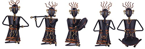 Karigaari Wrought Iron Set of 5 Warli Ladies