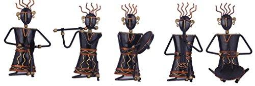 Karigaari Wrought Iron Set of 5 Warli Ladies