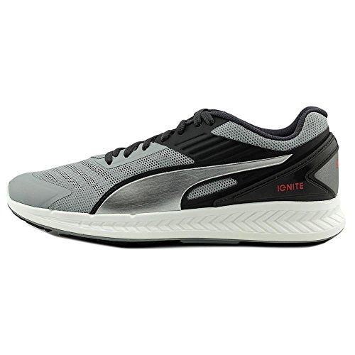 Puma Ignite XT v2 Synthétique Chaussure de Course Quarry-Asphalt-Silver