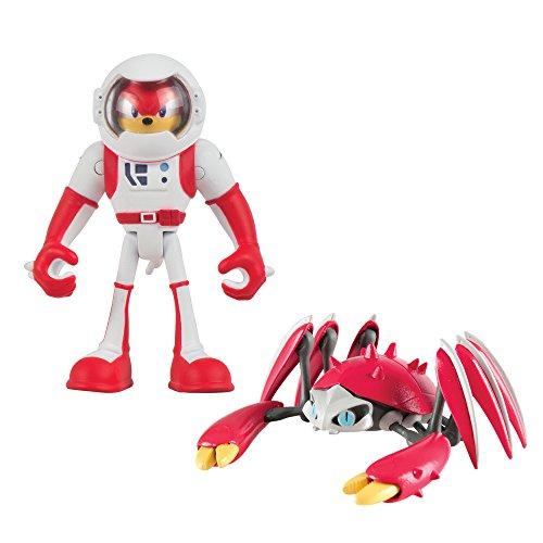 Sonic Boom–Knuckles Le hérisson et Crabmeat Figurines articulées 7,6cm Lot de 2