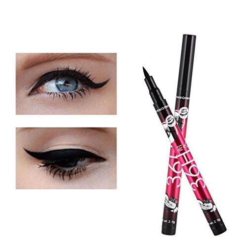 Aiming Eye Liner Water Proof Schwarz Eyeliner-Flüssigkeit Pen Glatte Anti Blooming Fast Dry