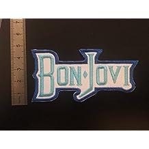 Parches para planchar escudo aufnaher Toppa?????? Bon Jovi color azul