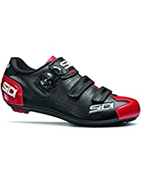 SIDI Zapatillas Alba 2 Scape Ciclismo Hombre Negro Rojo, 43