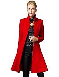 Shmily Girl Mujer Abrigo para Wool Coat