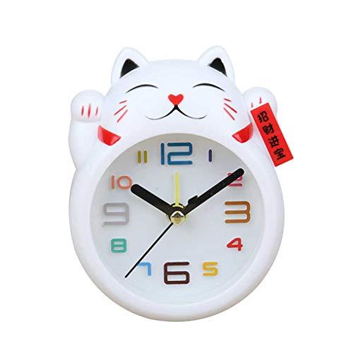 Luckiests Cartoon-glückliche Tier des Clock Stille Tisch Uhr Wohnzimmer Schlafzimmer Hauptdekoration Zubehör
