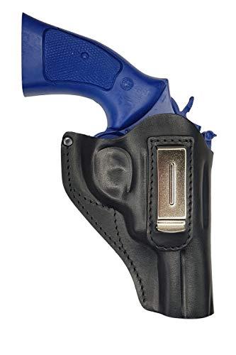 VlaMiTex IWB 13 Leder Revolver RÖHM RG 89 N Verdeckte/Versteckte Trageweise (Für Revolver Holster)