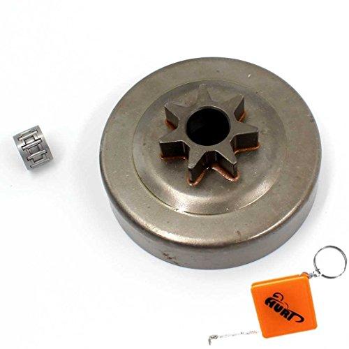 """HURI 325"""" 7Z flach Kettenrad Kettenantrieb + Nadellager für Stihl 024 024AV AV MS 240 Super"""
