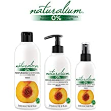 Naturalium PACK Higiene Corporal Melocotón - Kit Gel de Ducha Hidratante 500 ml + Loción Dermonutritiva