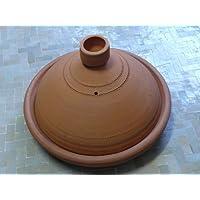 Tajine marroquí para cocinar no esmaltado Ø 35 cm para 4-5 personas