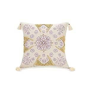 Jessica Simpson Jacky Decorative Pillow 16 X 16 Linen Amazon In Toys Games