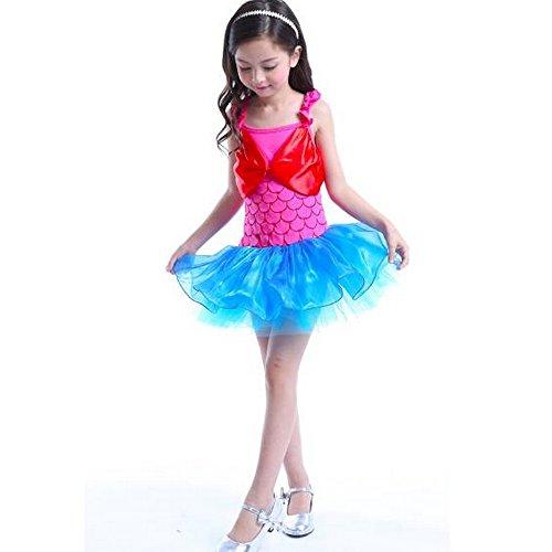 Ballettkleid für Kleinkinder, Tutu, Ballerina-Kostüm, Tanzkleidung, Rock, rosa