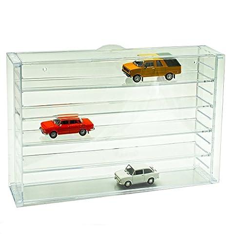 vitrine Acryl Mehrere Modellautos 1/87 1/72 1/64 1/43 Modellauto Modell