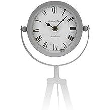 Reloj sobremesa tripode 42cm en varios colores