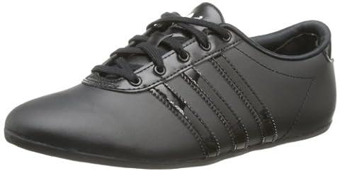 adidas Originals Nuline W, Baskets mode femme - Noir (Noir1/Noir1/Blanc), 38 EU