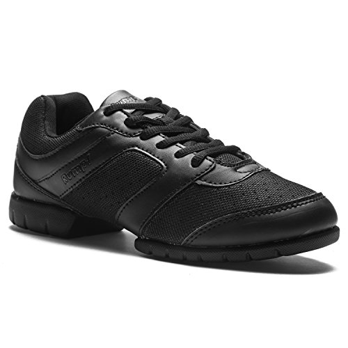 RUMPF Limbo Sneaker Frauen Balletschuh Tanzschuhe Sportschuh schwarz 44,5
