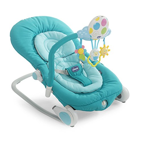 Chicco Balloon Hamaca Bebe plegable celeste