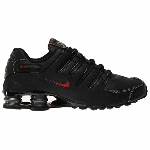 Nike 501524-031, Closed-Toe Homme Black/Vrsty Red-White-Anthrct