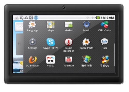 i-INN Tablet KIRK3 Display 7 Pollici , LED Capacitivo,  Android 4.0