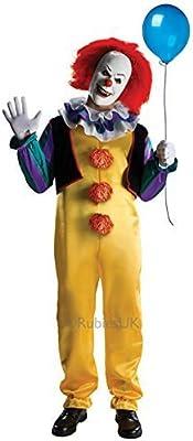 Adulto De Lujo Pennywise Rubies IT Stephen King Hombre Payaso Siniestro Disfraz Halloween