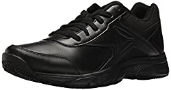 Reebok Mens Work N Cushion 3.0 Walking Shoe, Black, 9.5 M US