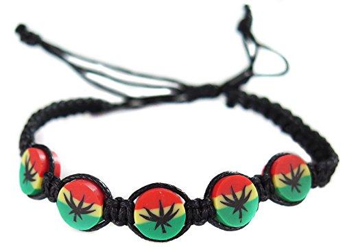 bracelet-rasta-reggae-jamaique-afrique-cannabis-feuille-rastafari-drapeau-macrame-infiniti