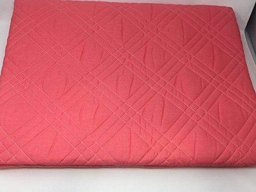 Caleffi Couvre-lit matelassé pour lit Simple Art. Marinella Double Variante Corail