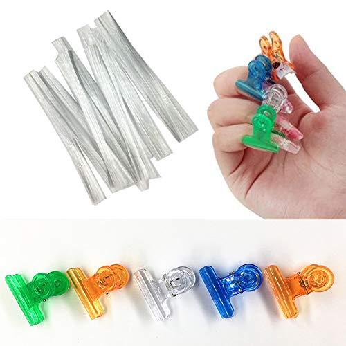 Maniküre Fiberglas Shaping Clips Set für Nagelverlängerung Fingernägel Acryl Tips