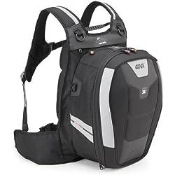 Givi XS317 Xstream Bag Mochila, Color Negro, 30 Litros de Volumen, Carga Máxima 4 Kg