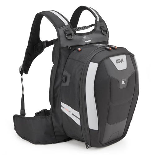 Givi XS317 Xstream Bag Mochila, Color Negro, 30 Litros de Volumen, Carga...