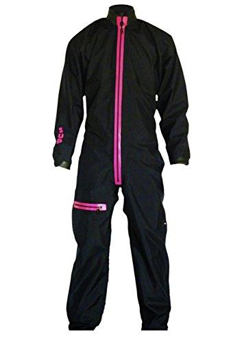 Dry Fashion Damen Herren Trockenanzug Sup-Advance, Größe:XS, Farbe:Schwarz/Pink (Nylon Trockenanzug)