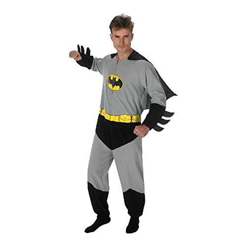 fasching batman Batman Onesie mit Cape für Herren zu Karneval Fasching Kostüm Gr.L