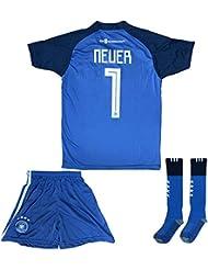 94f39f96a ATB Germany Neuer Jersey Goalkeeper  1 Home 18 19 - Football Kits Soccer  Shirt