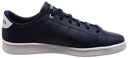 adidas Damen Advantage Clean QT Fitnessschuhe Blau (Collegiate Navy/ftwr White)